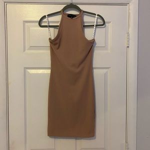 Dresses & Skirts - Misguided body con ribbed tank dress